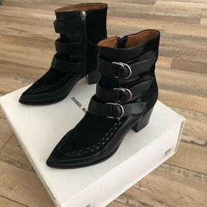 Isabel Marant Leather and Suede Boot